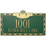 claddagh-wall-address-plaque-two-line Review