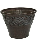 Classic Outdoor Planters - Embossed Star