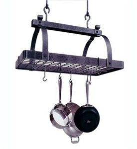 Classic Rectangle Hanging Pot Rack Image