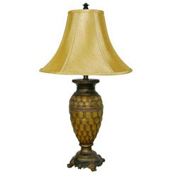 Classic Table Lamp by O.R.E. - Honey Image