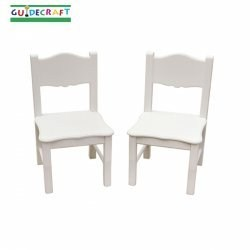 Classic White Extra Chairs Set of 2 By Guidecraft Image
