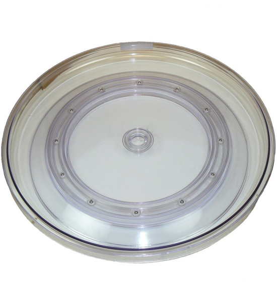 Clear Lazy Susan Turntable 18 Inch In Lazy Susan Turntables