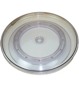 Clear Lazy Susan Turntable - 18 Inch Image
