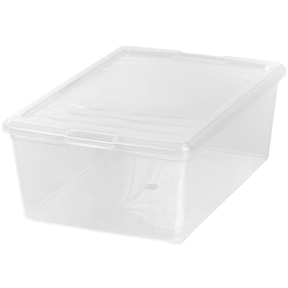 Clear Plastic Box Large Shoe In Plastic Storage Boxes