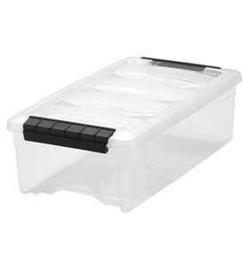 Clear Plastic Storage Box - Extra Small Image