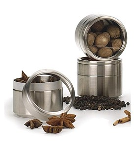 Stainless Steel Storage Canister Image