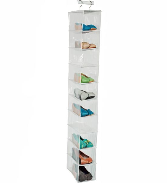 Closet Hanging Shoe Organizer Image