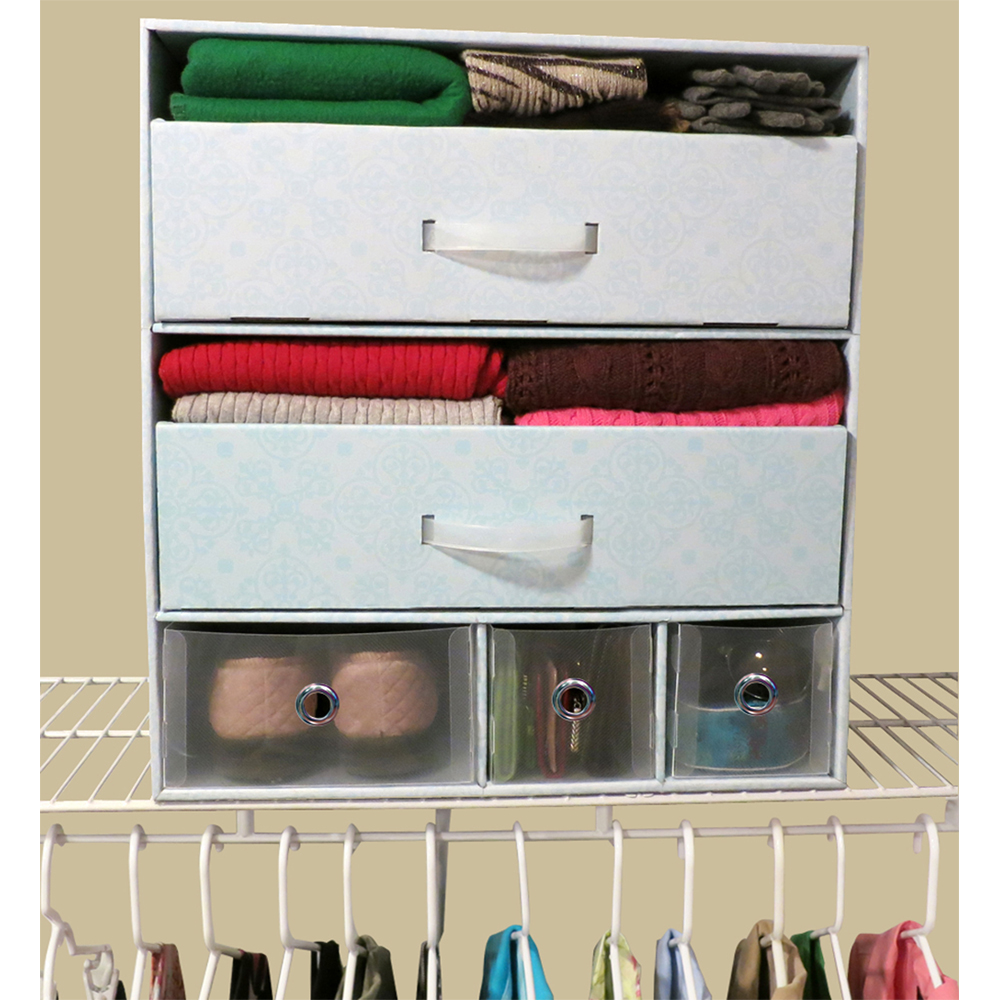 Boxes for storing clothes