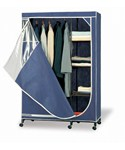 Clothes Armoire With Shelves