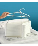 Clothing Hanger Storage Rack