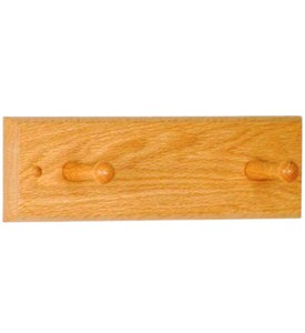Coat Rack - Two Peg Image