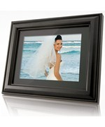 Wood Digital Photo Frame and MP3 Player