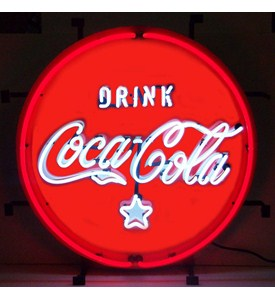 Coca-Cola Red, White and Coke Neon Sign by Neonetics Image