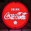 Coca-Cola Red, White and Coke Neon Sign by Neonetics