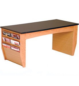 Coffee Table With Magazine Rack Image