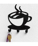 Coffee Time Key Rack