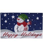 Coir Doormat - Happy Holidays