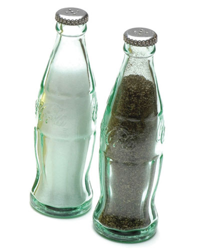 Coca Cola Gifts >> Coca-Cola Bottle Salt Or Pepper Shaker in Spice Containers