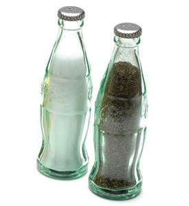 Coca-Cola Bottle Salt Or Pepper Shaker Image