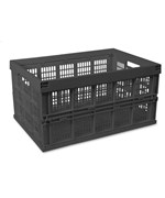 Collapsible Storage Crate - Black