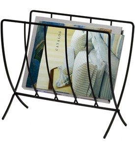 Collapsible Floor Magazine Rack Image