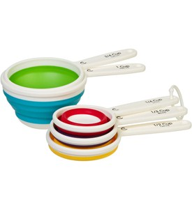 Collapsible Measuring Cups Image
