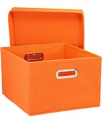 Collapsible Storage Box - Orange