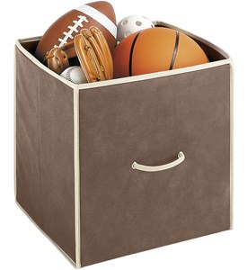 Collapsible Storage Cubes (Set of 2) Image