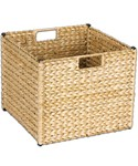 Collapsible Wicker Storage Basket