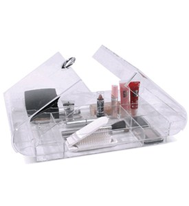 Compact Acrylic Cosmetic Organizer Image
