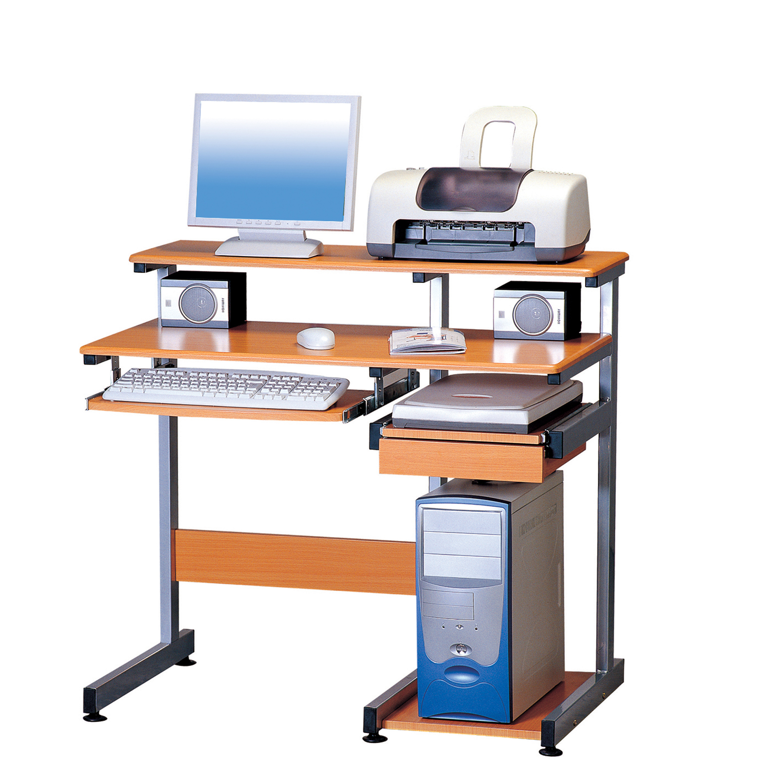 Compact Computer Desk By Rta Products In Desks And Hutches