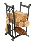 Indoor Log Racks and Firewood Holders | Organize-It