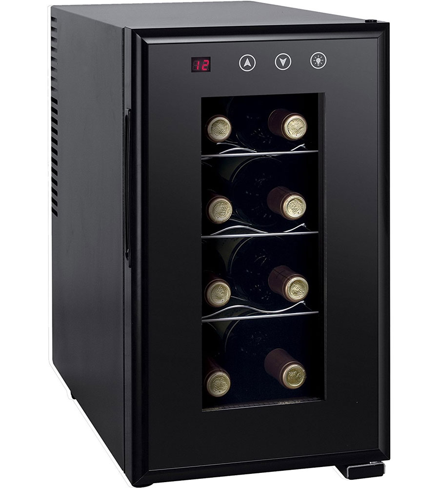 Compact Wine Cooler 8 Bottle In Wine Coolers