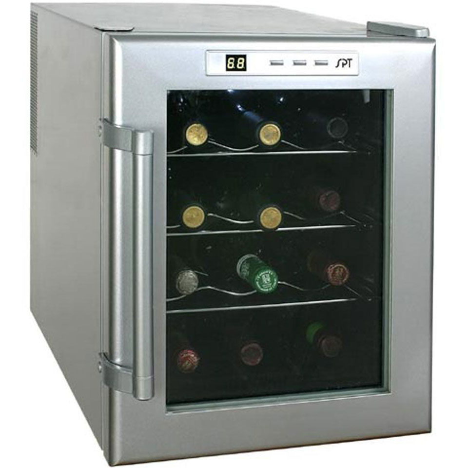 Compact Wine Refrigerator 12 Bottle In Wine Coolers