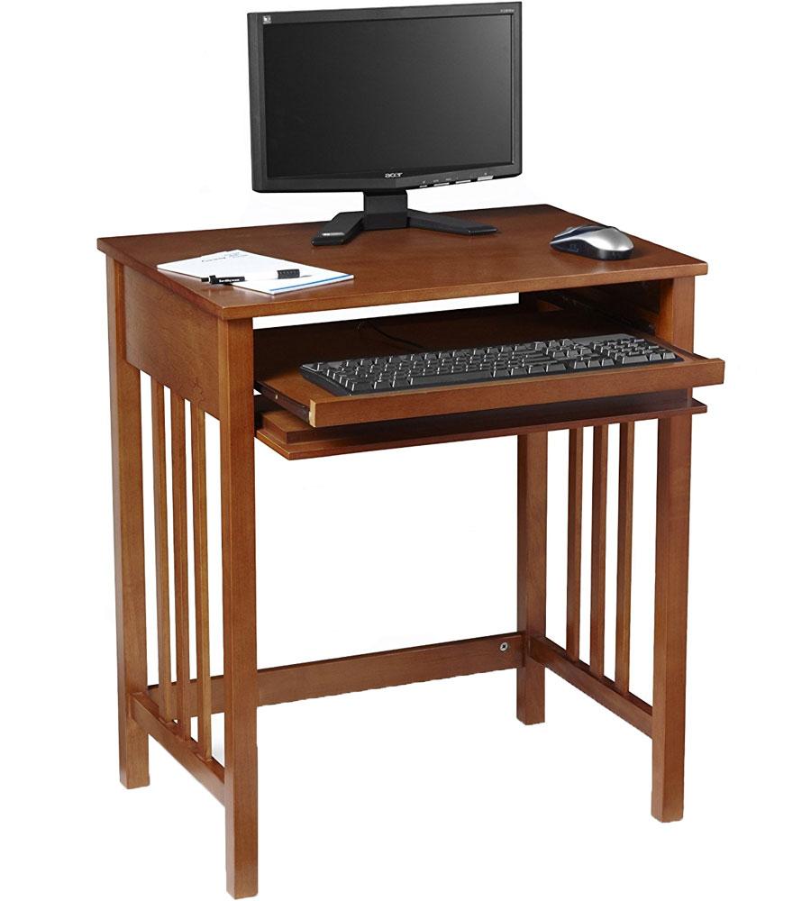 Compact Wood Computer Desk In Kids Desks