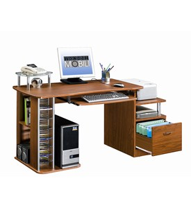 Computer Desk With Storage by RTA Products Image
