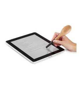 Computer Tablet Stylus - Kitchen Spoon Image