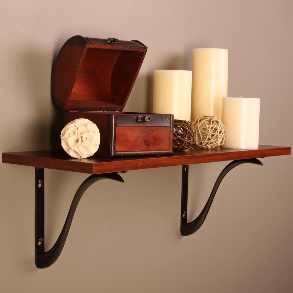 charleston decorative shelf bracket 8 inch in shelf brackets