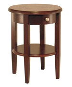 Concord End Table - Antique Walnut