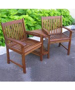 Conversation Chairs with Table