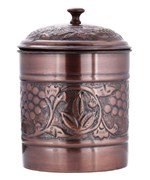 Cookie Jar - Antique Copper Finish