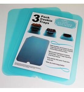 Cookie Tray - Insert for Cupcake Carrier (Set of 3) Image