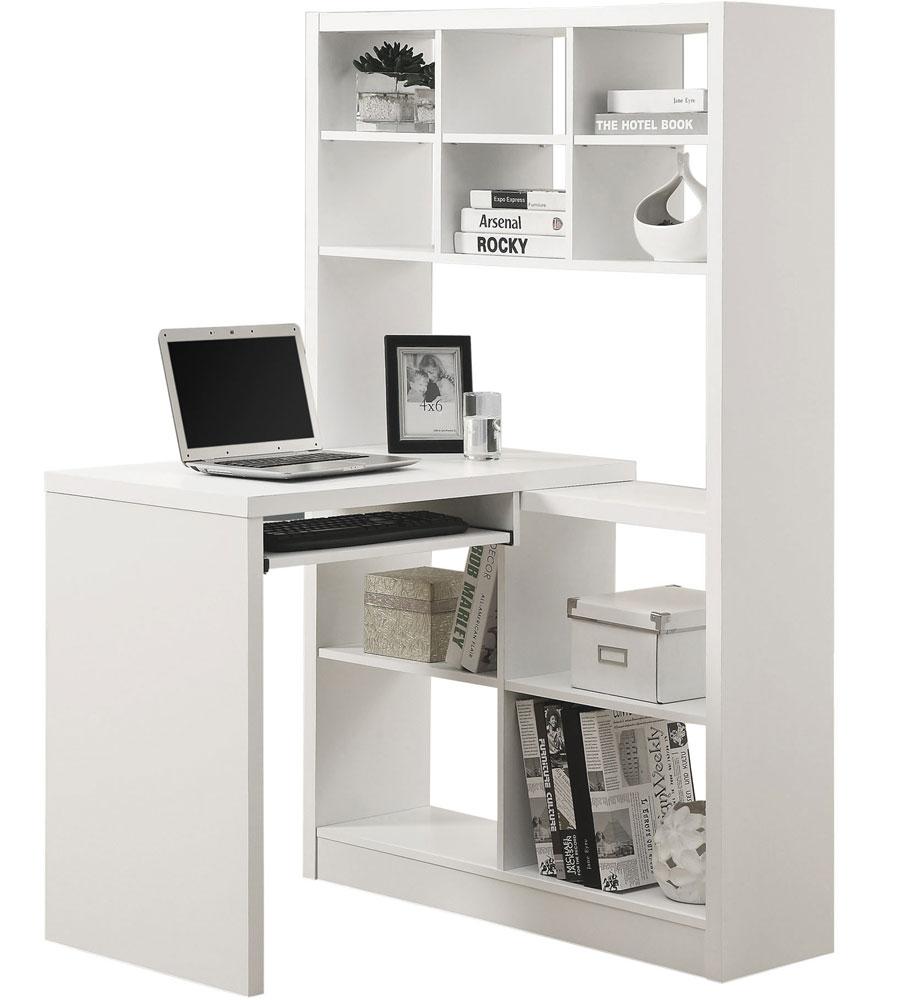 Corner Computer Desk - Bookcase in Kids Desks