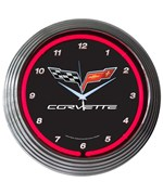 Corvette C6 Neon Clock by Neonetics