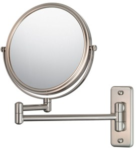 Wall Mounted Makeup Mirror - Double-Arm Image