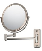 Wall Mounted Makeup Mirror - Double-Arm