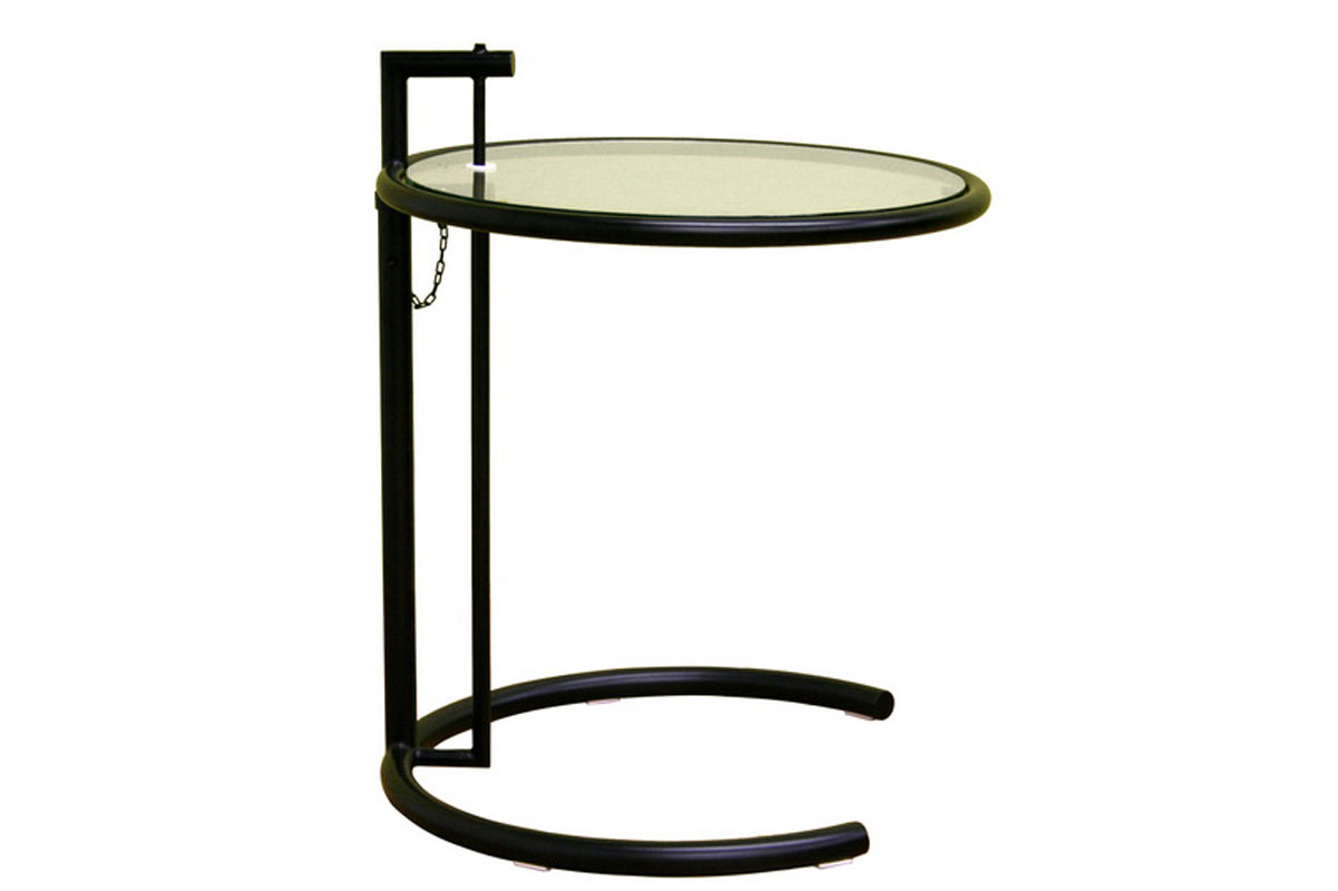 Costa black metal coffee table with glass top by wholesale interiors inc in tv tray tables Metal glass top coffee table