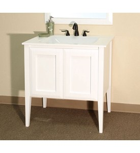 Cottage 33.5 Inch Single Sink Vanity by Bellaterra Home Image