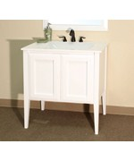 Cottage 33.5 Inch Single Sink Vanity by Bellaterra Home