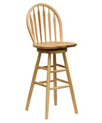 Farmhouse Swivel Bar Stool